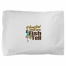 Cute Fishing womens Pillow Sham