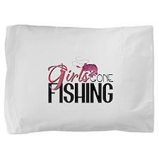 girls gone fishing2.png Pillow Sham