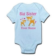 Big Sister Deer Personalized Body Suit