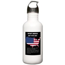 Repent America Water Bottle