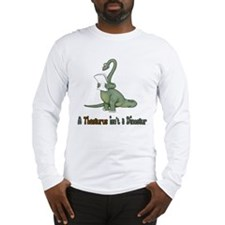 Thesaurus Dinosaur Long Sleeve T-Shirt