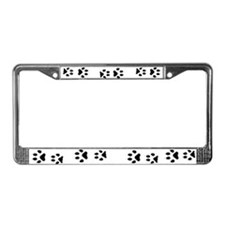 Wolf Tracks License Plate Frame