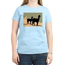 Alpacas Hillside T-Shirt