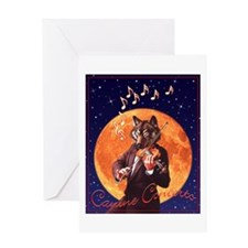 Canine Concerto #2 Greeting Card