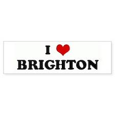 I Love BRIGHTON Bumper Bumper Sticker