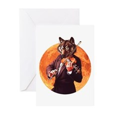 Canine Concerto #4 Greeting Card