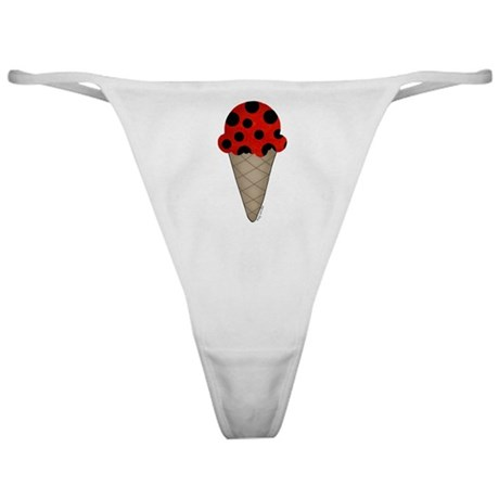 Lady bug cone Classic Thong