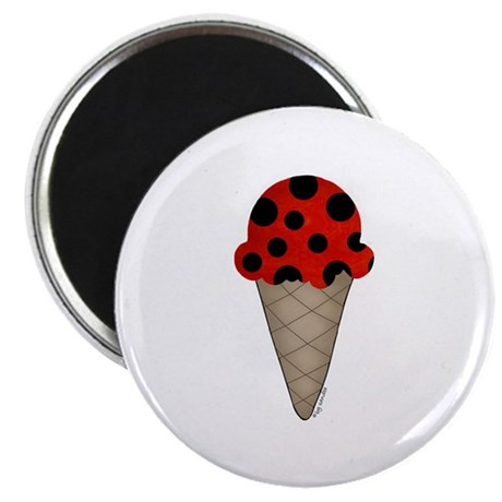 Lady bug cone Magnet
