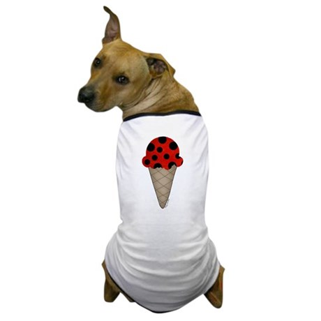 Lady bug cone Dog T-Shirt