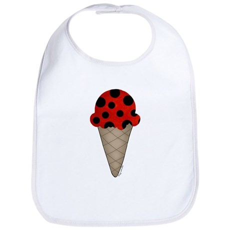Lady bug cone Bib