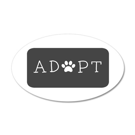 Adopt! Wall Decal