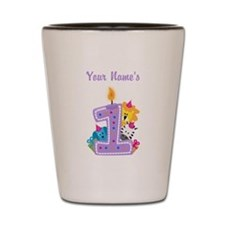 CUSTOM 1 year old Shot Glass