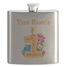 CUSTOM Your Names 1 Flask
