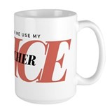 Don't Make Me Use My Teacher Mug