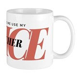Don't Make Me Use My Teacher Small Mug