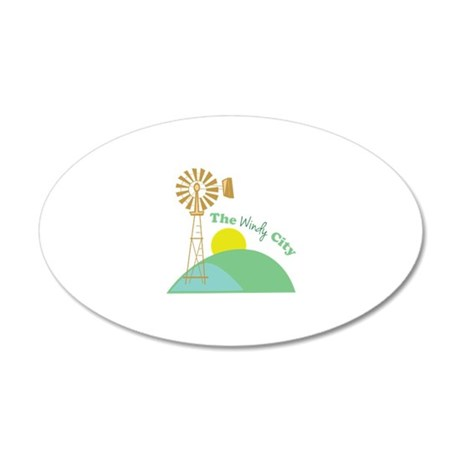 The Windy City Wall Decal