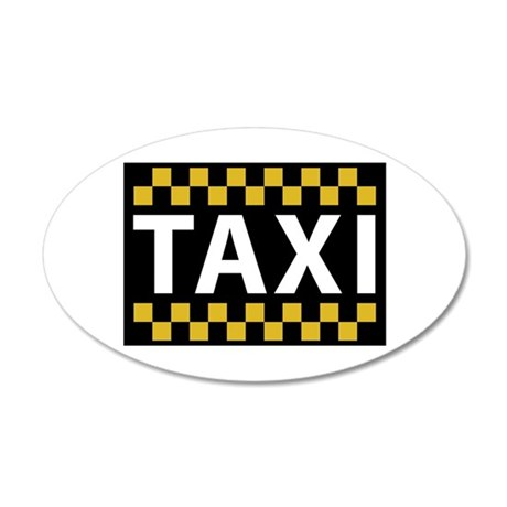 Taxi Wall Decal