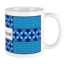 Personalized Name Tile Pattern Mug