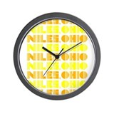 Niles, Ohio Wall Clock