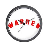 Warren, Ohio Wall Clock