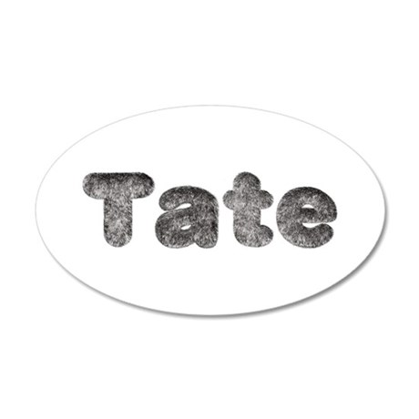 Tate Wolf 20x12 Oval Wall Decal