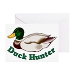 Duck Hunter Greeting Cards (Pk of 10)