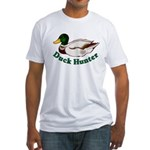 Duck Hunter Fitted T-Shirt