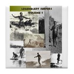 LEGENDARY SURFERS Vol. 1 Tile Coaster