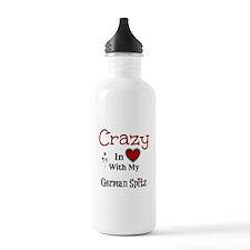 German Spitz Water Bottle