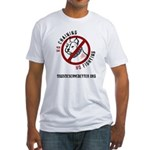 No Chains No Fights Fitted T-Shirt