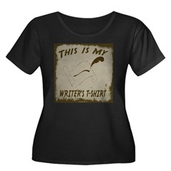 My Writer's T-Shirt Women's Plus Size Scoop Neck D