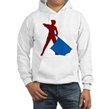 Flag Girl Jumper Hoody