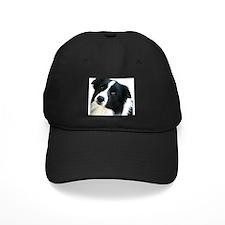 Border Collie Portrait Water Colour Baseball Hat
