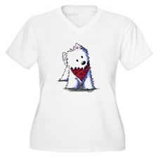 Kissing Bandit Westie T-Shirt