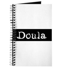 Doula Black/White Journal