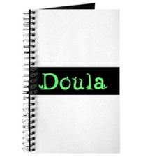 Doula Black/Green Journal