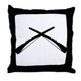 Rifles Throw Pillow