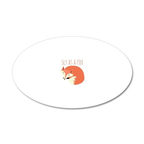 Sly As A Fox Wall Decal