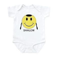 Shalom Happy Face Infant Bodysuit