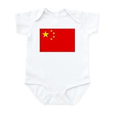 Chinese Flag Infant Bodysuit