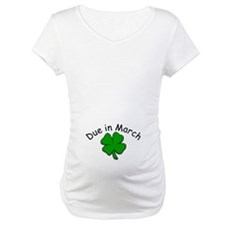 Due in March Green Clover Shirt