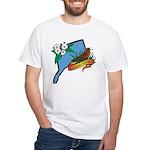 Connecticut White T-Shirt