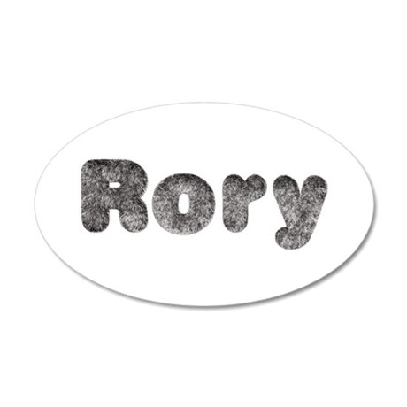 Rory Wolf 35x21 Oval Wall Decal