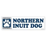 NORTHERN INUIT DOG Bumper Car Sticker