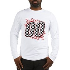 Race Car Number 00 Long Sleeve T-Shirt