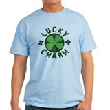Lucky Charm Green Clover T-Shirt