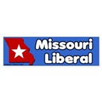 Missouri Liberal Bumper Sticker