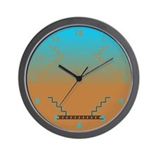 Southwestern-Style Wall Clock