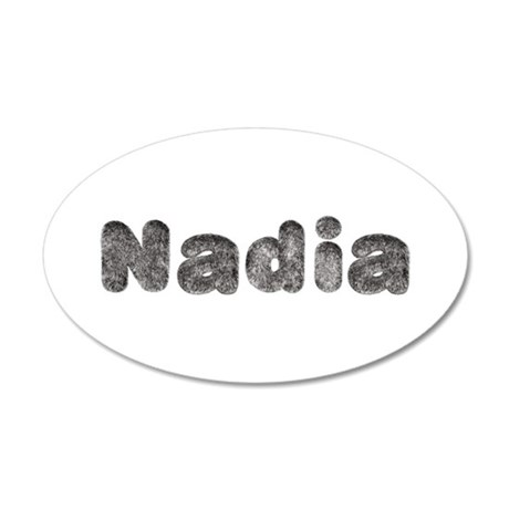 Nadia Wolf 20x12 Oval Wall Decal