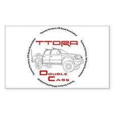 TTORA Double Cabs of America Decal
